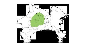 神奈川県対応エリアマップ